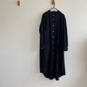 画像1: ロングシャツワンピース (1)