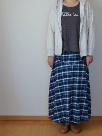 画像3: マキシフレアースカート