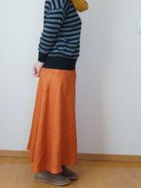 画像1: マキシフレアースカート
