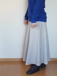 画像2: マキシフレアースカート